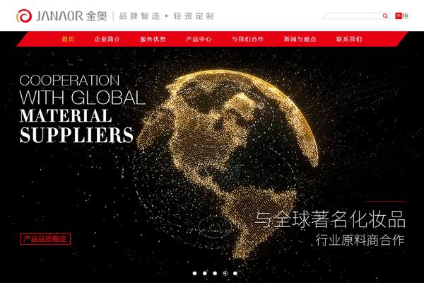广州市金奥化妆品有限公司网站建设项目--互诺科技