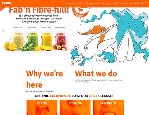noodfood网站建设项目--互诺科技
