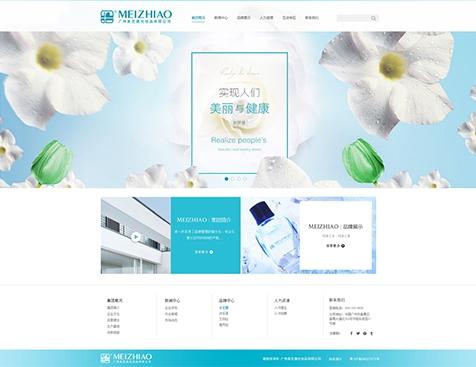 广州美芝澳化妆品有限公司网站建设项目--互诺科技