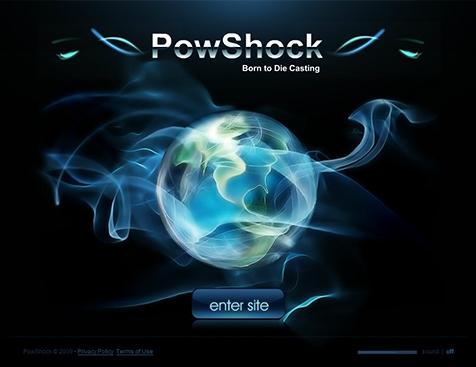 powshock网站建设