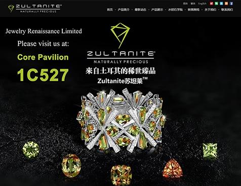 广州苏坦莱珠宝贸易有限公司网站建设项目--互诺科技