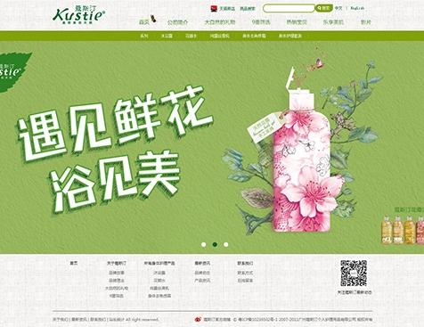 广州蔻斯汀个人护理用品有限公司官方网站建设--互诺科技