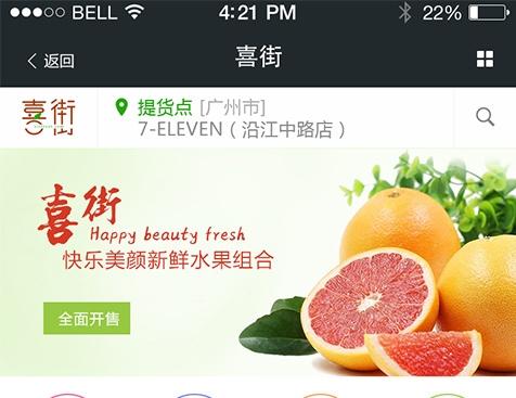 广州少鲜队电子商务有限公司网站建设项目