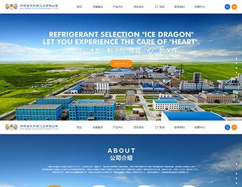 内蒙古永和氟化工有限公司网站建设项目--互诺科技