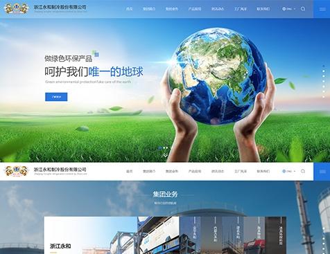 浙江永和制冷股份有限公司网站建设项目--互诺科技