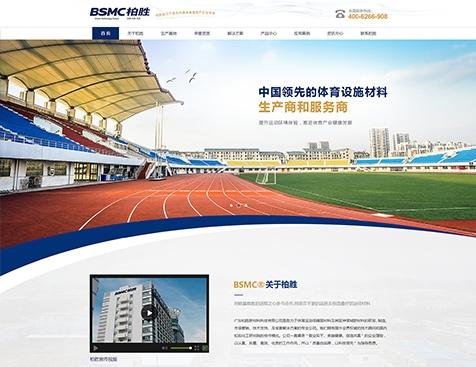 广东柏胜新材料科技有限公司网站建设项目--互诺科技