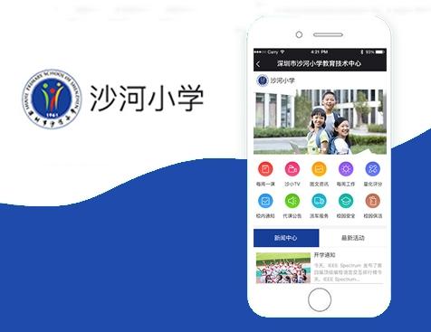 深圳市南山区沙河小学网站建设项目